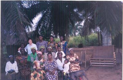 Foto de las  Mamás catholiques del Congo