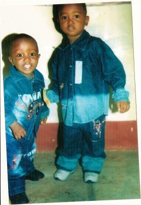 Niños del orfelinato de Matadi