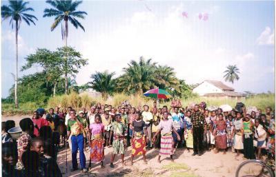Grupo de personas de Kole (Congo)